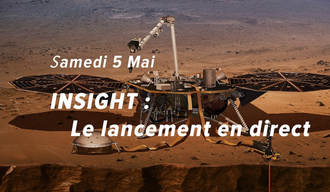 Lancement de la sonde Insight